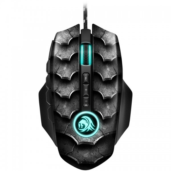 Sharkoon Drakonia II Maus USB Optisch 15000 DPI black