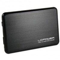 6cm SATA USB3 LC-Power Alu black