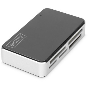 CardReader USB All-in-One, black/silber