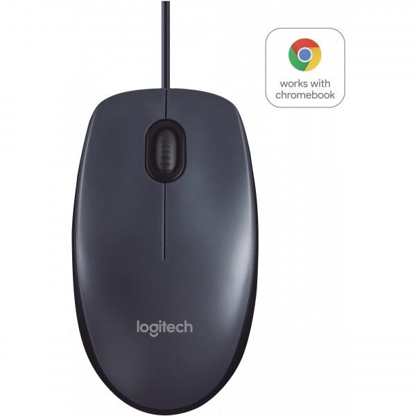 Logitech B100 optical USB black OEM