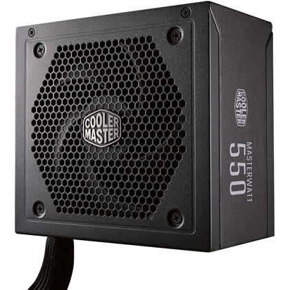 550W CoolerMaster MasterWatt 550 | 80+Bronze Kabelmanagement