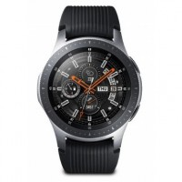 Samsung Galaxy Watch 46mm AMOLED Silber GPS Smartwatch