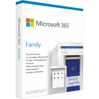Microsoft Office 365 Family Deutsch DE (NEW)