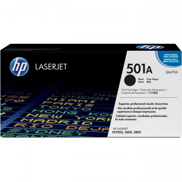 HP # 501A Q6470A black