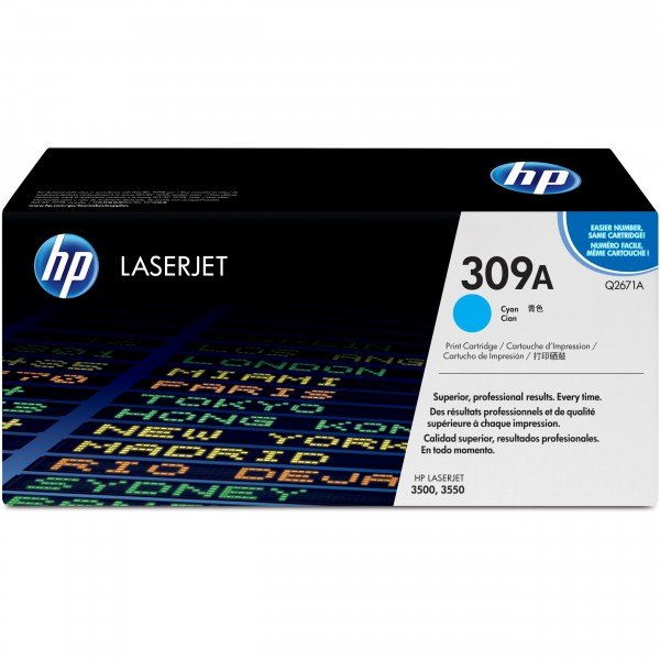 HP # 309A Q2671A cyan
