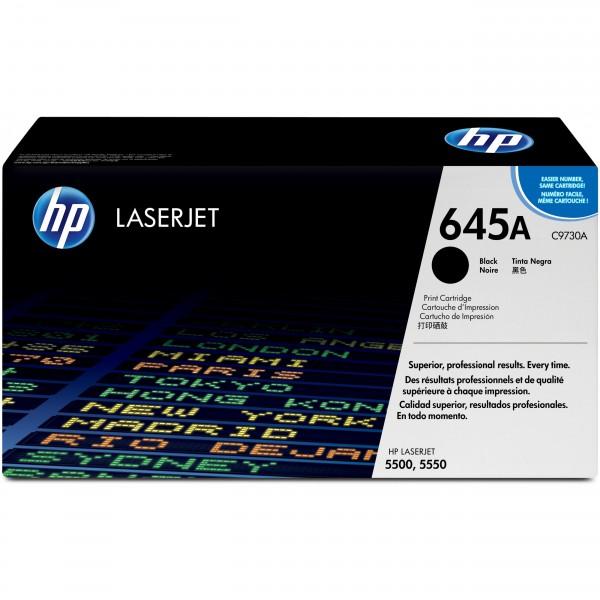 HP # 645A C9730A black