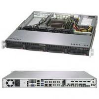 "Supermicro 19"" 1HE Intel Xeon E-2134 4C/8T /16GB/ 2x480GB SSD"