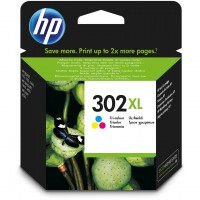 HP # 302 XL color (cyan, magenta, yellow)