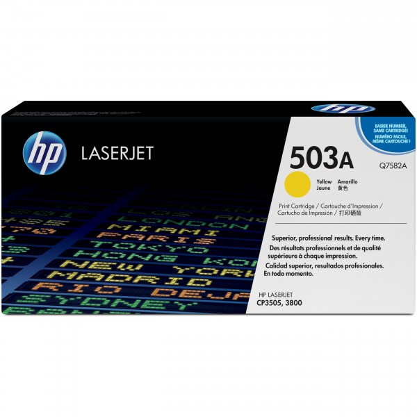 HP Q7582A yellow #503A