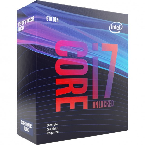 Intel S1151 CORE i7 9700KF BOX 8x3,6 95W WOF GEN9