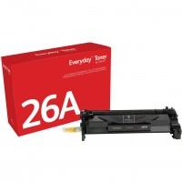 TON Xerox Black Toner Cartridge equivalent to HP 26A for use in LaserJet Pro M402, MFP M426; Canon imageCLASS LBP214, LBP215, MF424, MF426 (CF226A)