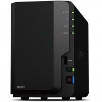 2-Bay Synology DS218 Realtek RTD1296, 4x 1.40GHz