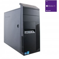 PC Lenovo M83 G3260 (2x3,3) / 8GB DDR3 / 128GB SSD+500GB HDD / Win 10 Pro / Tower