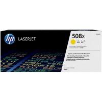 HP # 508X CF362XC yellow Contract-Toner - Hohe Kapazität