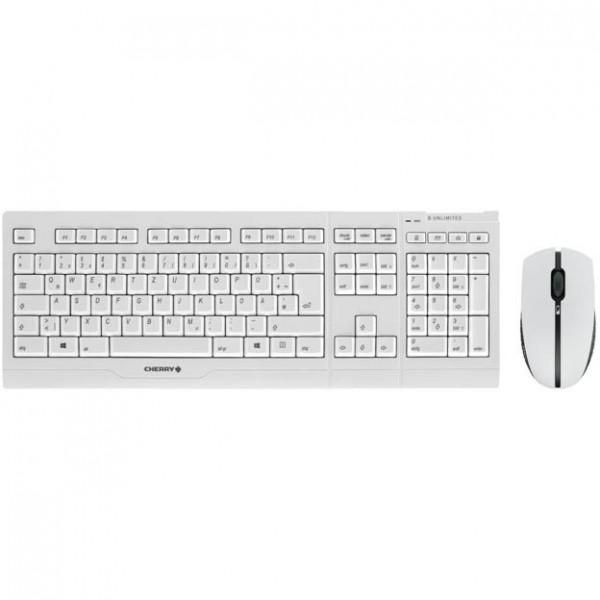 Cherry B.UNLIMITED 3.0 RF Wireless Grau Tastatur und Maus