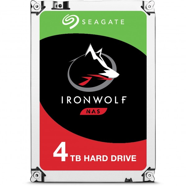 4TB Seagate IronWolf ST4000VN008 5900RPM 64MB 24x7