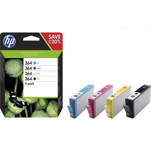 HP # 364 BK/C/M/Y Multipack