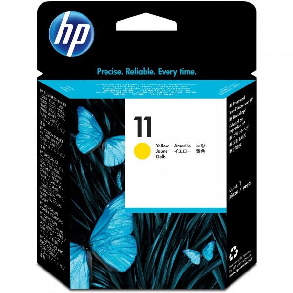 HP # 11 C4813A Druckkopf yellow