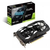 GTX 1650 4GB ASUS Dual-GTX1650-4G - Dual Slot - 2Fan 1xDVI/1xDP/1xHDMI