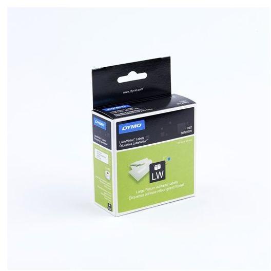 Dymo LabelWriter - Rücksendeadressaufkleber 54 x 25mm - weiß (S0722520)