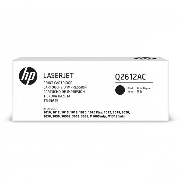 HP # 12A Q2612AC black Contract-Toner