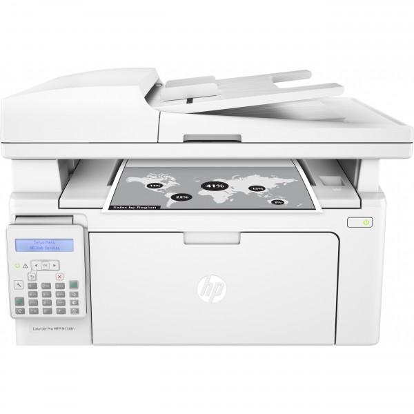L HP LaserJet Pro M130fn 23S. FAX/LAN
