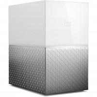 3,5 8TB WD My Cloud Home Duo white