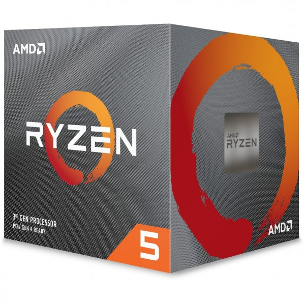 AMD AM4 Ryzen 5 6 Core Box 3600 3,6 GHz MAX Boost 4,2GHz 6xCore 32MB 95W with Wraith Stealth Cooler 7nm