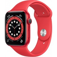 Apple Watch Series 6 GPS, 44mm PRODUCT(RED) Aluminium Case with PRODUCT(RED) Sport Band - Regular *NEW*