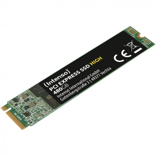 M.2 480GB Intenso PCI Express -HIGH-