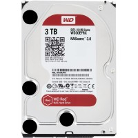 3TB WD WD30EFRX Red NAS 5400RPM 64MB