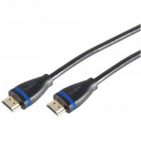 HDMI (ST - ST) 2m 3D+Ethernet+4K 60Hz vergoldet poly| Innovation IT