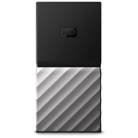 256GB WD MyPassport USB 3.1 Gen2 Schwarz/Grau