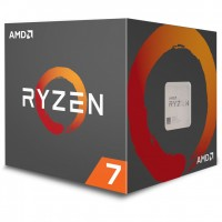 AMD AM4 Ryzen 7 8 Box 2700X 4,35 GHz 8xCore 20MB 105W with Wraith Prism cooler