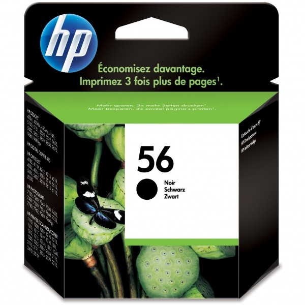 HP # 56 C6656AE black
