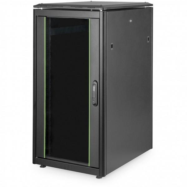 "Netzwerkschrank 19"" 22HE Digitus 1164x600x800 mm, Farbe black (RAL 9005)"