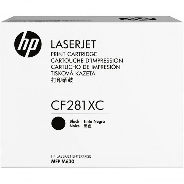HP # 81X CF281XC black Contract-Toner - Hohe Kapazität