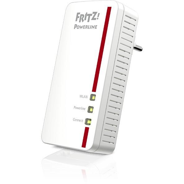 FRITZ! Powerline 1260E 1200Mbit/s Eingebauter Ethernet-Anschluss WLAN white 1Stück(e) Single