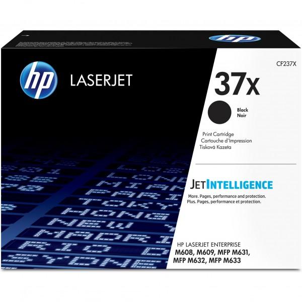 HP # 37X CF237X black Hohe Kapazität