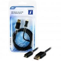 USB A-B micro ST-ST 2m | Innovation IT