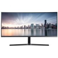 """86,4cm/34"""" (3440x1440) Samsung C34H890WGU Curved Ultra WQHD HDMI DP USB-C 4ms 21:9 3000:1 Silver"""