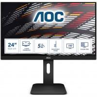 60,5cm/24'' (1920x1080) AOC 24P1 IPS 16:9 USB 5ms VGA HDMI DisplayPort Speaker FULL HD Black