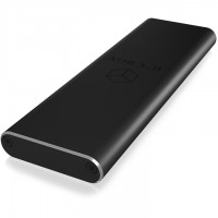 GEH M.2 zu USB 3.0 Host, Aluminium, schwarz ICY BOX