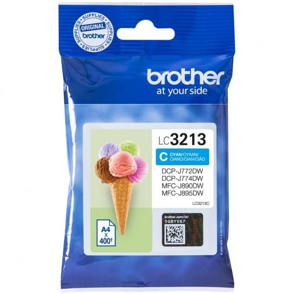 Brother LC3213C cyan HC