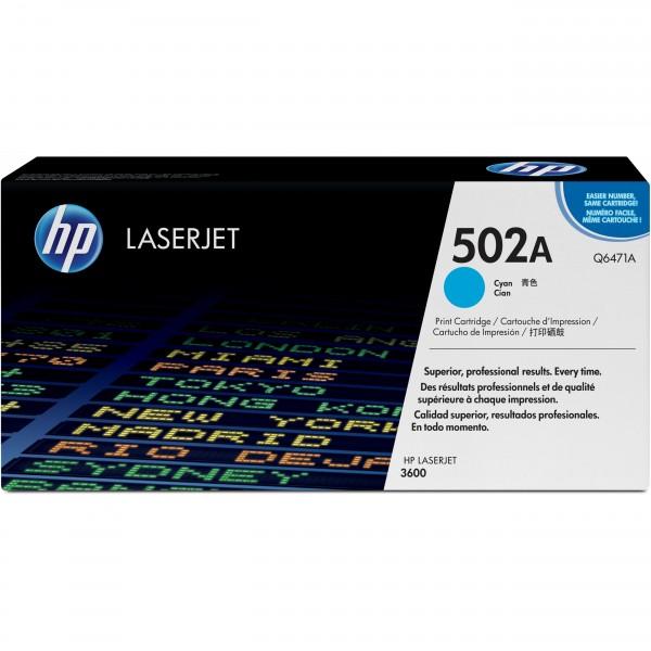 HP #502A Q6471A cyan