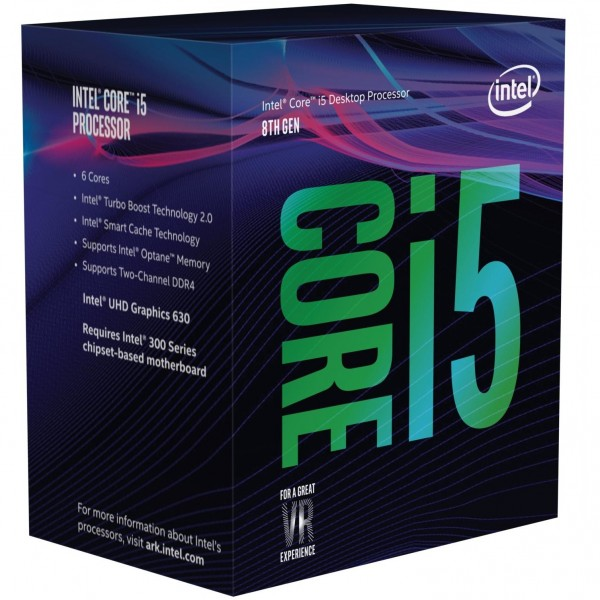 Intel S1151 CORE i5 8500 BOX 6x3,0 65W