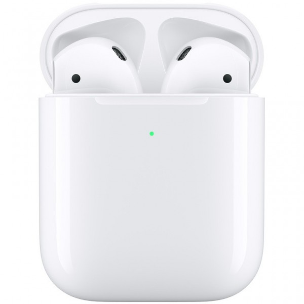 Apple AirPods + Kabelloses AirPod Case - 2nd Generation - *New*