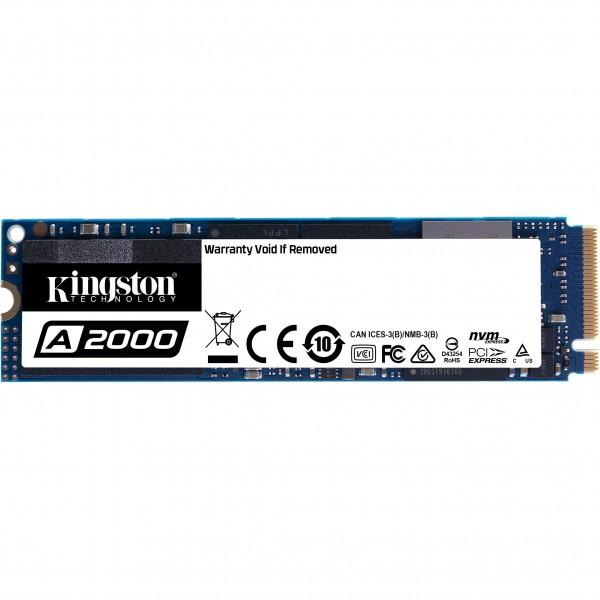 M.2 250GB Kingston A2000 NVMe PCIe 3.0 x 4