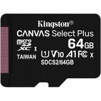 MicroSDXC 64GB Kingston Canvas Select Plus C10 UHS-I 100MB/s