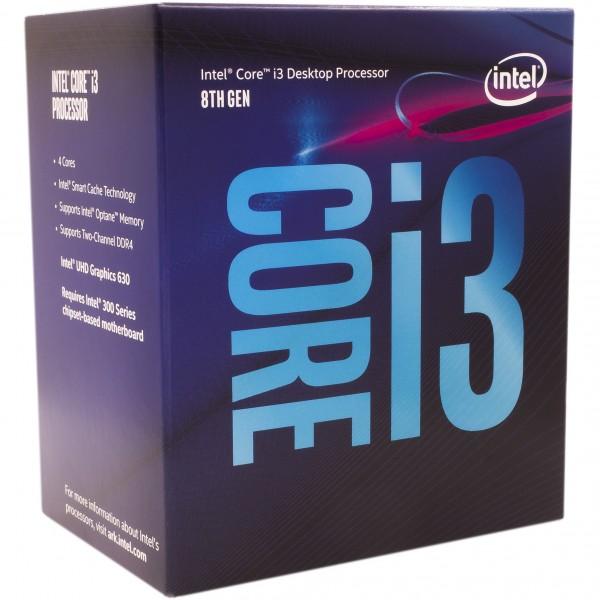 Intel S1151 CORE i3 8100 BOX 4x3,6 65W